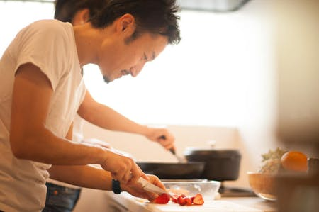 Enjoy homemade Japanese cuisine with a local couple!