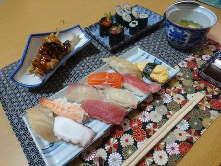 Authentic SUSHI Course Cooking Class