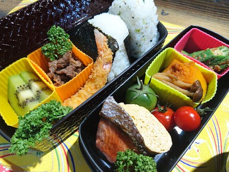 Well-balanced BENTO (Lunch Box) cooking!