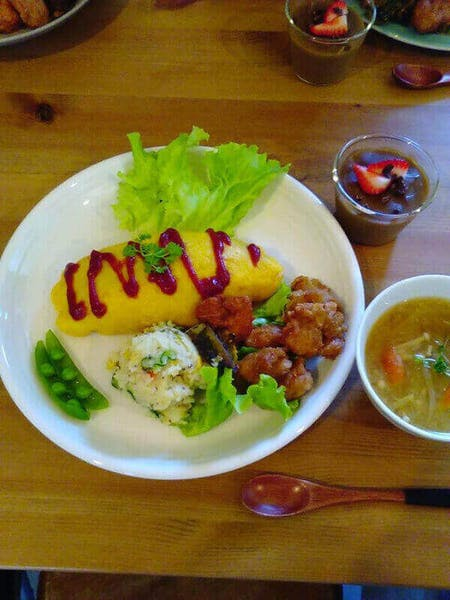 Vegan Omurice (Japanese omelette rice) Cooking Class