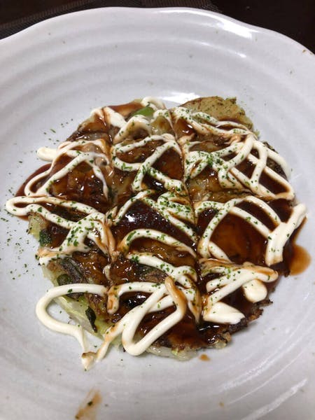 Vegan and Vegetarian Okonomiyaki Cooking