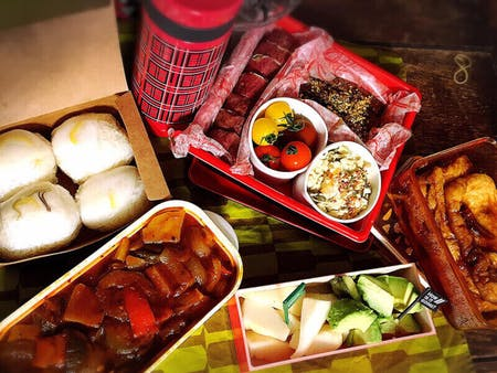Home made Lunch box  or Hotpot ( Nabe)