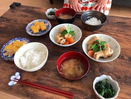 Japanese home-cooked meal
