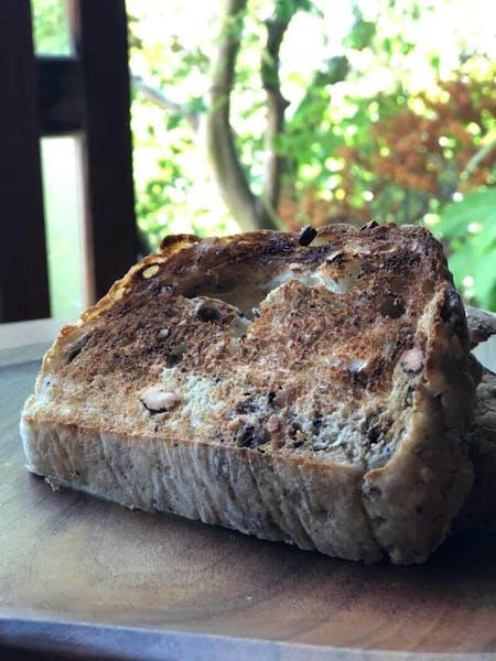 Original bread with local items