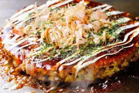 Okonomiyaki and shaved ice taught by professionals(2HRS CLASS 11:00~13:00)