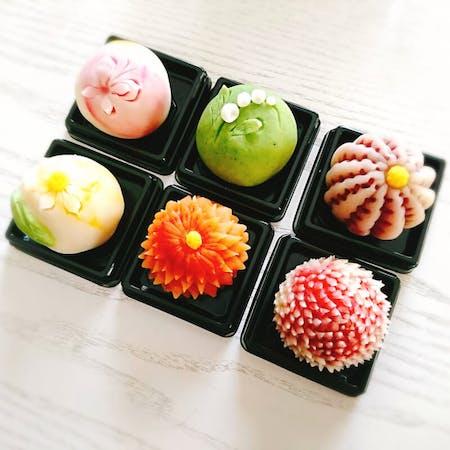 Beautiful Japanese sweets