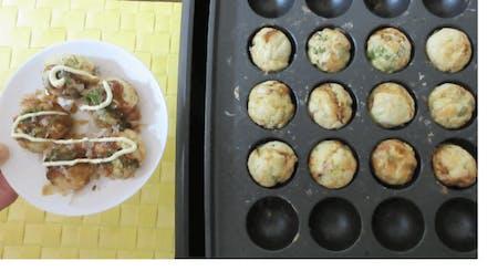 Takoyaki(octopus dumplings)