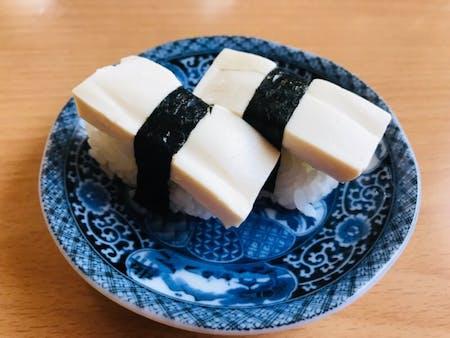 Secret of vegan sushi for local.