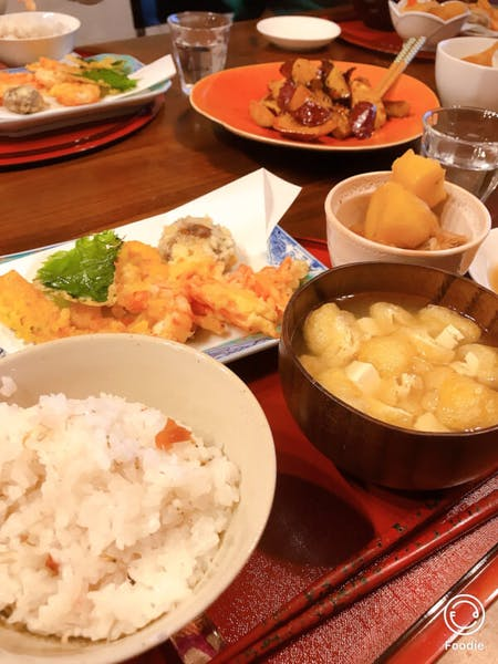 Homemade Washoku cooking