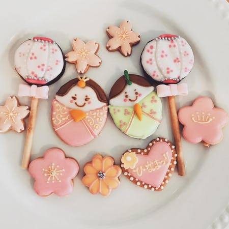 Beautiful icing cookies