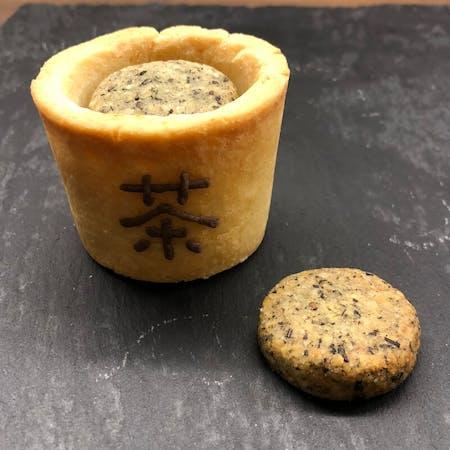 Japanese Tea cookies with Tea
