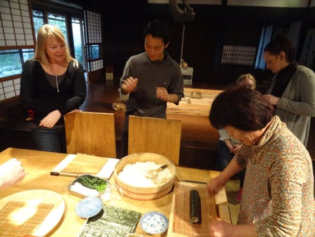 Japanese cooking experience
