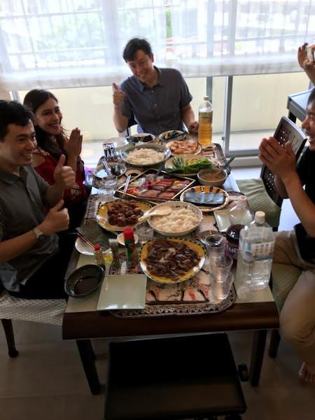 Homemade Temaki  sushi party!!