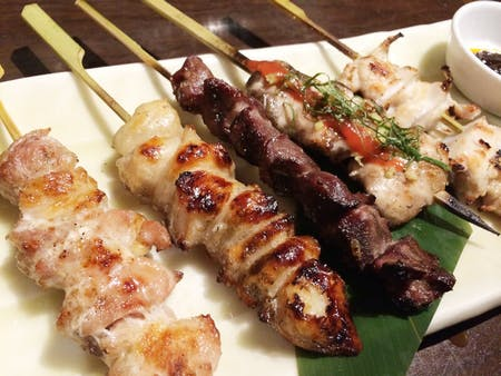 Super easy Yakitori(grill chicken) course!