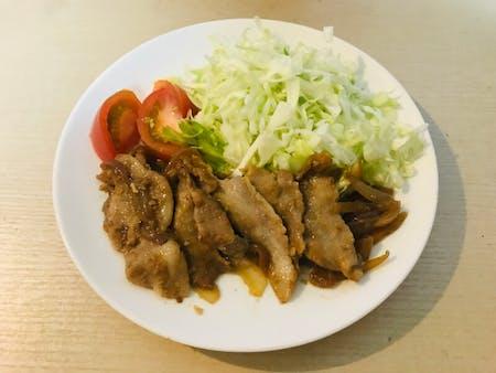 Grilled pork ginger