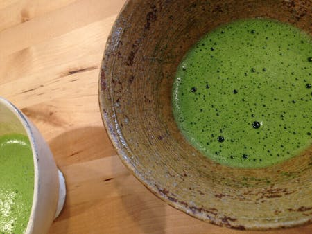Tea ceremony and small Kaisei by tea master