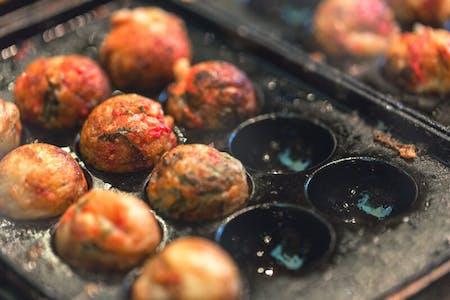 Takoyaki(Octopus balls)