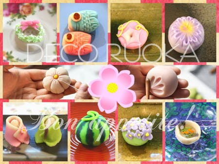 "Healthy, organic, beautiful Japanese confectionery ""NERIKIRI"" class"