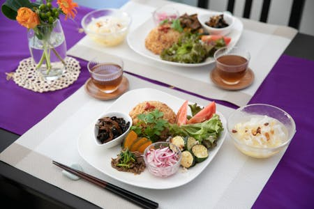 Healthy Japanese/Oriental meal