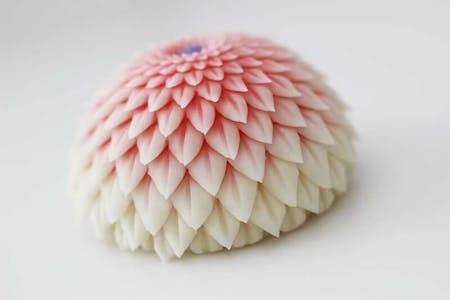 Wagashi Hasami-Giku(和菓子/鋏菊)