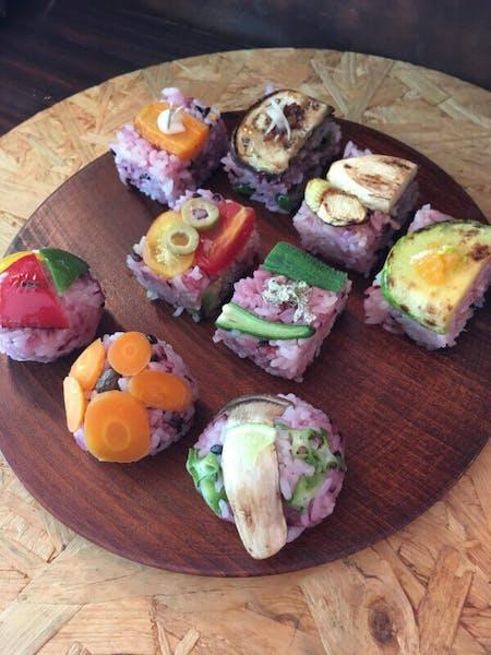 Organic Vegan Temari and Kata Sushi Class