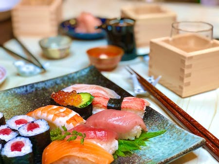Traditional Sushi at home