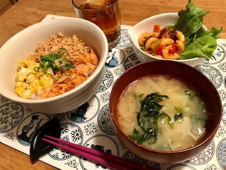 Having fun time and cooking time with Japanese traditional meals