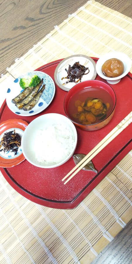 Cook your own Japanese Local food .\r\n(Okonomiyaki .Tsukudani.Rice and Miso soup.Pickles.)\r\nCooking Class  at Kishiwada.