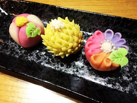 In Sendai ! Japanese traditional sweets ! It will be great for Instagram!