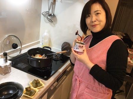 Amazing! Mackerel Curry in Kyoto.