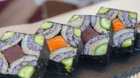 Sushi Art & Japanese Cooking Class