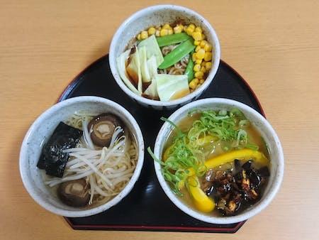 Vegan/Vegetarian RAMEN(3 types) cooking!
