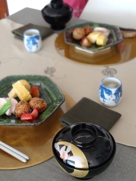 Japanese lunch