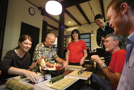 Authentic Japanese Cooking Class in Kyoto -sushi class