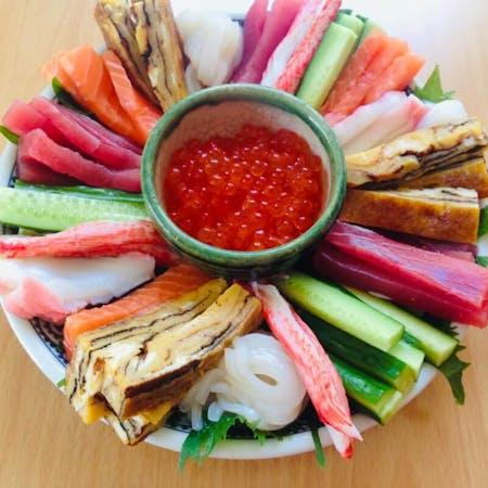 Enjoy Temaki sushi & Tea ceremony in Nagoya