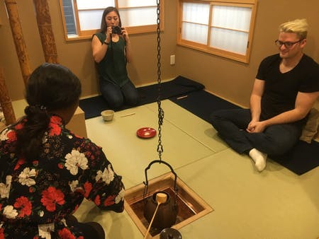 Make your Matcha with tea ceremony master