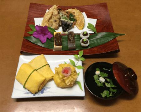 Tempura and Cute Sushi