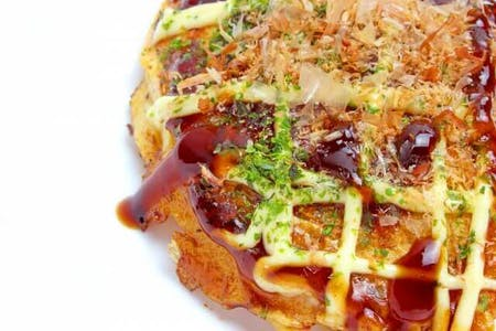 Okonomiyaki Cooking