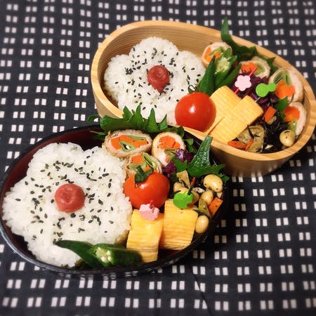 "Let's cook Japane style Lunch box ""Bento""!"