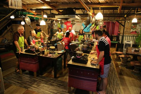 Evening Cooking Class by Thai Akha Kitchen