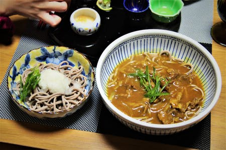 Handmade soba&Seasonal hospitality dishes