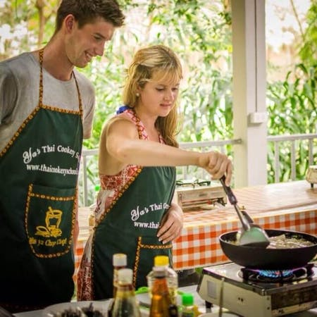 Krabi Cookery School is not just a legendary cooking class and a restaurant, but also a fantastic activity during your stay in Thailand in an unforgettable friendly atmosphere you will experience with us.