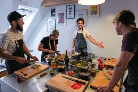 Traditional 3 course menu with Chef Ondrej