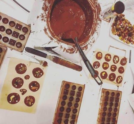 Belgian chocolate workshop