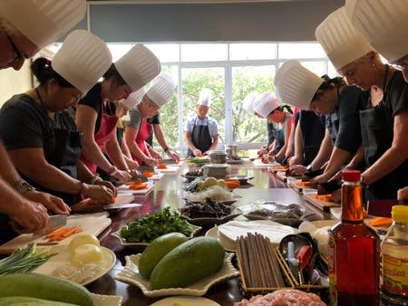 Hanoi Cooking Class & local market tour