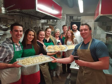 Handmade Pasta, Gnocchi & Ravioli and tasting