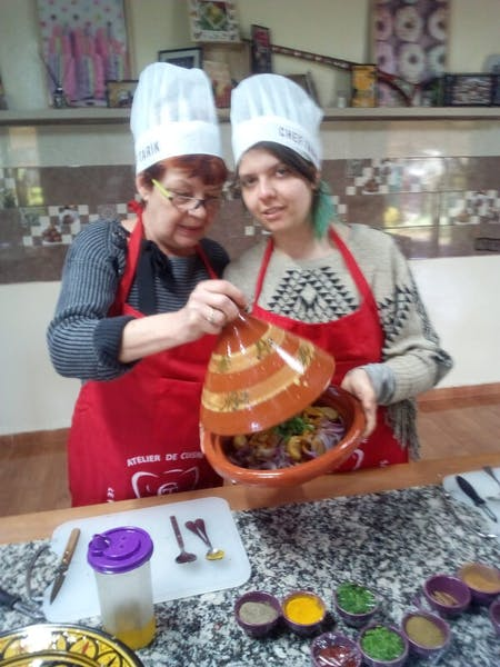Moroccan bio cooking class from farm to table