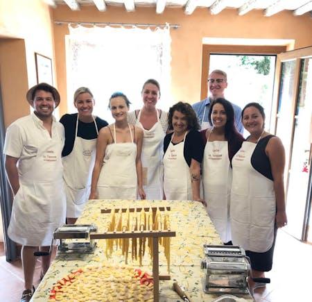 Tuscan Menu Fresh Pasta Cooking Class