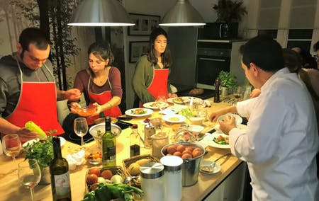 Barcelona cooking class & market tour La Boquería