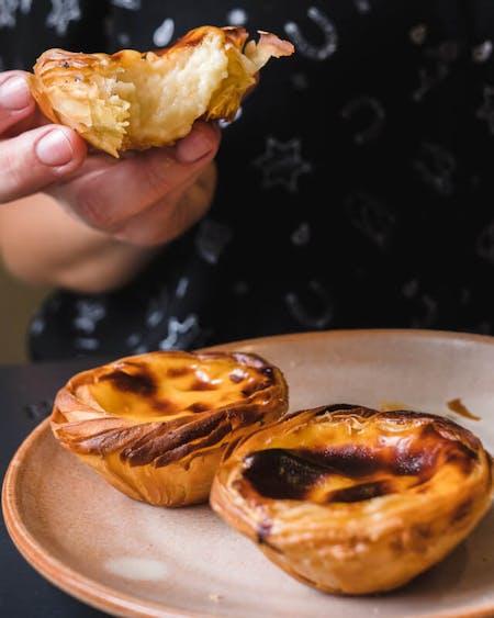 Pastel de Nata - Portuguese Egg Tarts ONLINE Baking Class